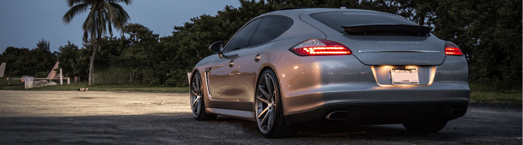 Porsche with HID & LED Lights