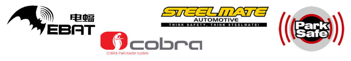 reverse parking sensors supplier logos